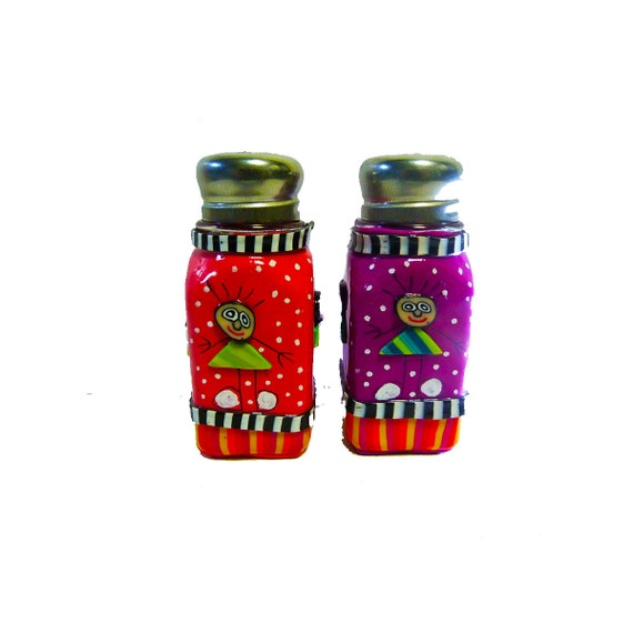 Salt and pepper shakers modern salt and pepper shakers by Colorful salt and pepper shakers