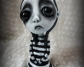 Loopy Gothic Art Doll Lowbrow Dark Goth Annie