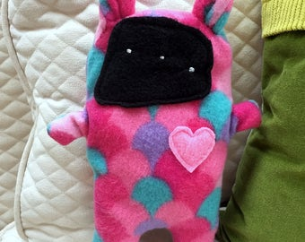 Belle ~ The Bunny Bummlie ~ Stuffing Free Dog Toy ~ Ready To Ship Today