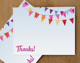 Thank You Card — Bunting