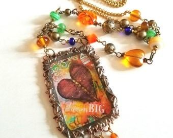 Dream Big~Whimsical Moments Necklace