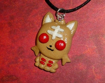 Pokemon - Litten Cookie Charm Necklace - Limited Edition