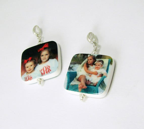 A set of two keepsake photo pendants - P2Rx2