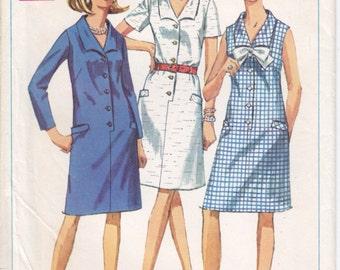 Vintage Pattern Simplicity 7449 Dress 60s Size 20-1/2 B43