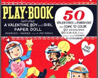 Digital | Print at Home | 1948 Valentine Playbook Vintage Retro Style