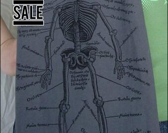 10 Dollar Sale, Gray Skeleton Scarf