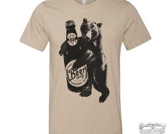 Mens BEER HUG t shirt s m l xl xxl (++ Color Options)