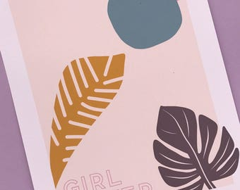 Girl Power 8x10 Print for Dissent Club