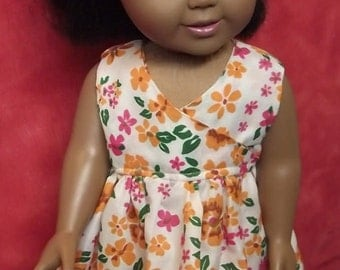 18inch Doll Flower Dress   Doll Dress   Flower Dress