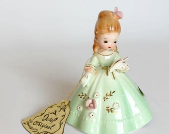 Vintage Josef Original Belle of the Ball Porcelain Bell Figurine Collectible Debutante Sweet 16 Quinceanera Gift