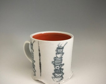 Tea Cups Coffee Mug