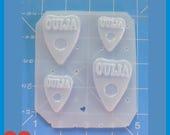 SALE 4 New Ouija Board Planchettes Handmade Plastic Mold