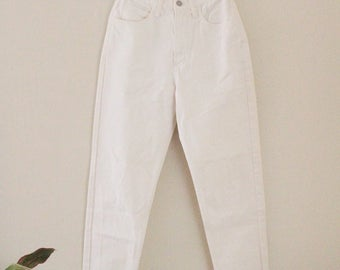 90's White GUESS Jeans