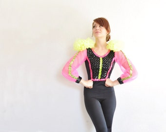 lyrical ribbon dance clown costume . exactly the thing you have been looking for .extra small.xs .sale