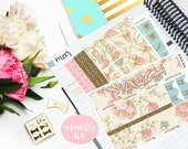 March Monthly Kit Planner Vertical EC Erin Condren Happy Planner Kikki K Student Sticker Glossy - Stick to Your Story