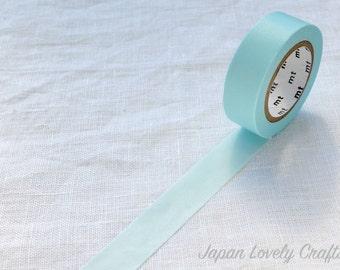 Pastel Blue 2, Japanese mt Washi Paper Masking Tape, Adhesive Deco Tape, Journal Washi, Planner Decoration, Hobonichi, Card Deco, Zakka Gift