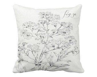 Botanical Pillow Cover Fig. 3A
