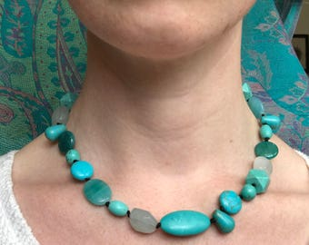 Turquoise Multistone Necklace