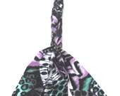 Teal Purple Berry Horse Tail Wrap Braid-in Fleece The TAIL BAG ALTERNATIVE™