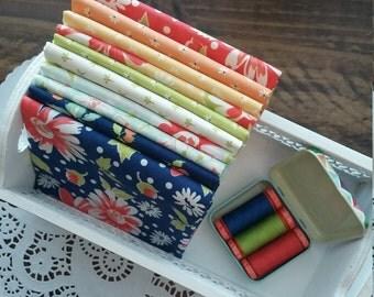 Coney Island Rainbow Fat Quarter Bundle - Handcut Bundle - Custom Bundle