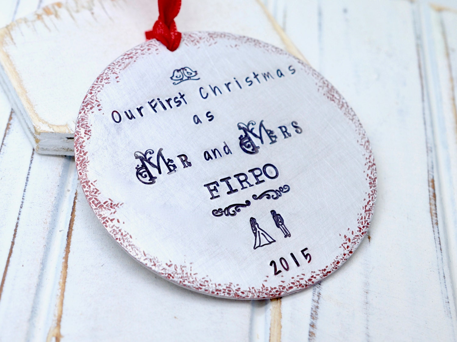 First christmas as a married couple ornament - Our First Christmas Ornament Our First Christmas As Mr And Mrs Wedding Ornament Mr Mrs Married Couple Ornament First Christmas Married
