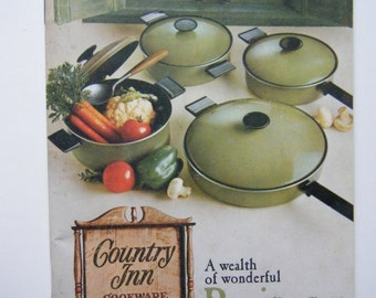 Country Inn Cookware by West Bend Recipes 1969
