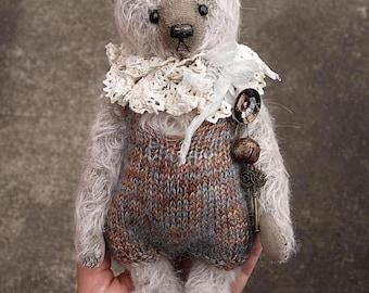 Sunday, One of a Kind Mohair Artist Teddy Bear from Aerlinn Bears