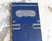 1941 PHYSICIAN Vintage Sketch Notebook Journal