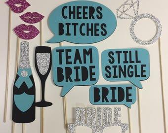 Bachelorette Photo Booth Props
