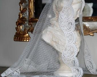 Ivory Mantilla in Honour of Saint Belina