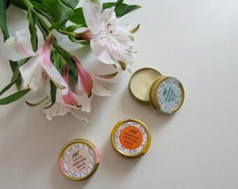 SALE Yogi Perfume Balm Pack - Set of 3 - all natural - FREE US Shipping