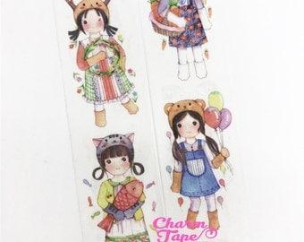 Cosplay Girl Washi Tape (30mm x 5m) WT999