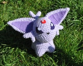 Espeon Pokemon Inspired Pokedoll Amigurumi - Old Style, Last One!