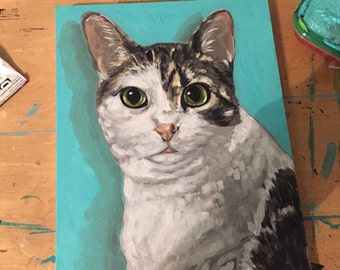 """Custom 8""""x10"""" Pet Portraits"""