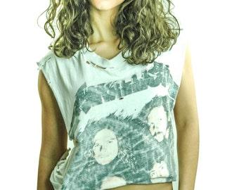 Vintage Metallica shirt Destroyed Burnout Thrashed Concert shirt Band Tee Rocker Metal Thrash Heavy Metal Iron Maiden Slayer Black Sabbath