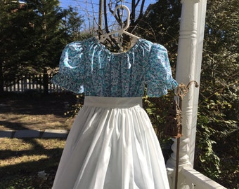 Ships Today -Pioneer, Prairie, Colonial  Felicity, American Girl Costume -   Girls Sz  5-6