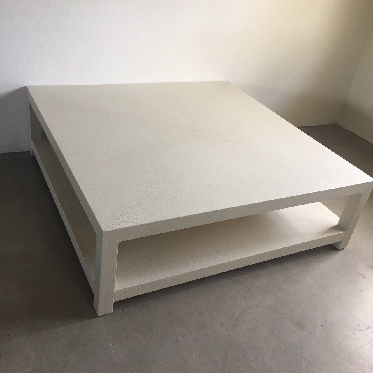 Grasscloth Coffee Table Livenupdesign