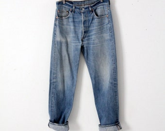 vintage Levi's 501 xx denim jeans, 33 x 31