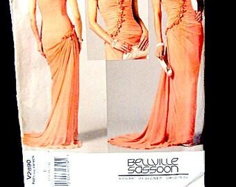 Pattern Vogue Bridal, wedding dress pattern, Vogue wedding pattern, evening dress pattern, bridal original dress, Bellville Sassoon pattern