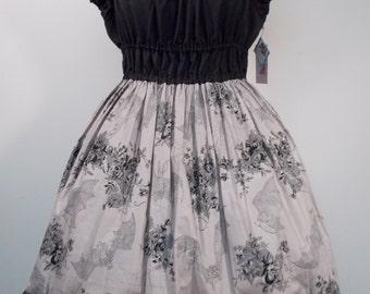 Romantic Bat Onepiece Dress