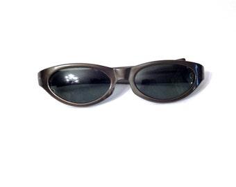 Vintage Cool Ray Sunglasses - Vintage Polaroid Cool Ray - Green Cat Eye - Vintage Cat Eye Sunglasses