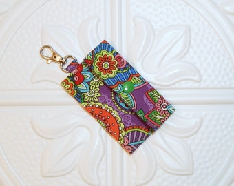 Chapstick Holder - Lip Balm Holder - Chapstick Cozy - Lip Balm Cozy - Chapstick Keychain Holder - USB Holder