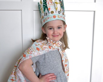 Girls' Chieftess Headdress // 12 Feathers all around // Stretch to fit // for 2+
