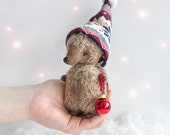Teddy Hedgehog in Hat - 13cm