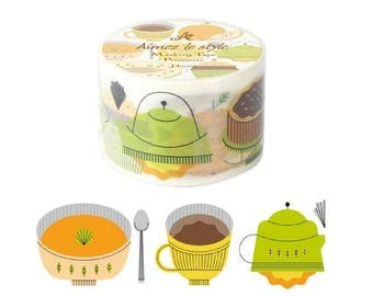 Dining Aimez le style Washi Tape (38mm X 7M) 03010