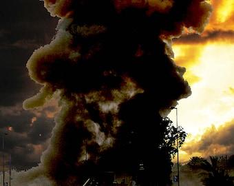 The Destruction of Sennacherib / Suicide Bomber Poster