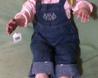 OOAK! Baby Rots-a-Lot Zombie Baby ~ Ashton Drake Gallery reborn doll ~ 30 inches