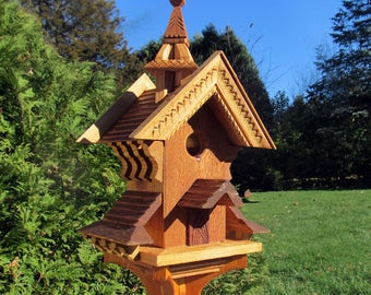 Folklore - 22 and half inches cedar birdhouse