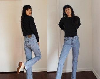 Vintage Calvin Klein High Waist Jeans Light Wash Size 5