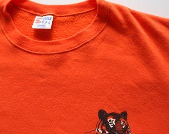 Vintage Cub Scouts Tiger Cub Sweatshirt Size X-Large 1980s